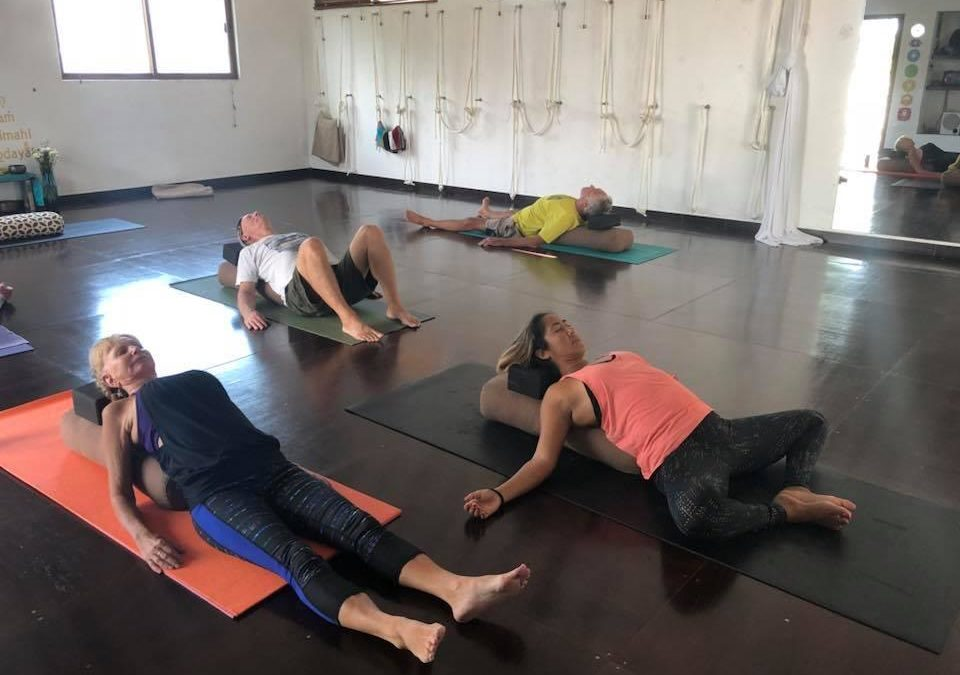 LIght Vinyasa & Restorative Yoga with Essential Oils